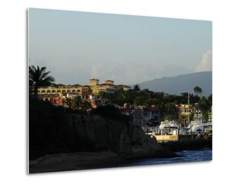 Seaside Resort of Palmas Del Mar and Marina-Raul Touzon-Metal Print