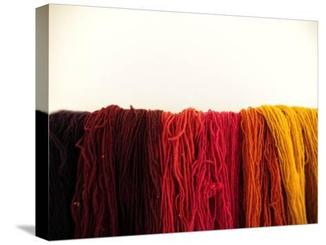 Wool Yarn for Traditional Weaving-Raul Touzon-Stretched Canvas Print
