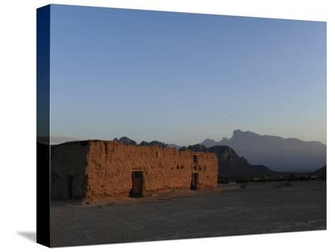 Hacienda Del Muerto, Destroyed During the Mexican Revolution-Raul Touzon-Stretched Canvas Print