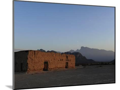 Hacienda Del Muerto, Destroyed During the Mexican Revolution-Raul Touzon-Mounted Photographic Print
