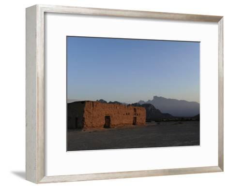Hacienda Del Muerto, Destroyed During the Mexican Revolution-Raul Touzon-Framed Art Print