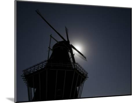 Dutch Windmill in Holland, Mi-Tim Laman-Mounted Photographic Print
