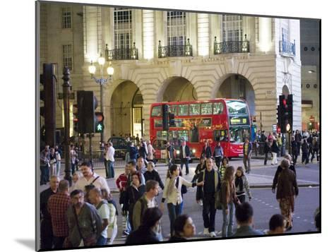 Commuters at Rush Hour Near the Alliance Life Office Building-xPacifica-Mounted Photographic Print