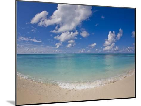 Perfect Beach Day with Blue Skies, Clear Water, Puffy White Clouds-Mike Theiss-Mounted Photographic Print