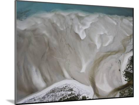 Tidal Water Patterns Along the Coast of Mozambique-Michael Polzia-Mounted Photographic Print