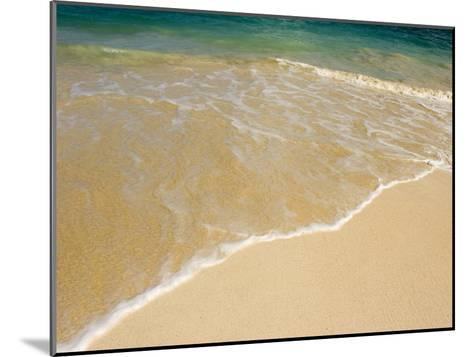 Gentle Wave Washes Ashore on the Sands of Kailua Beach in Hawaii-Charles Kogod-Mounted Photographic Print