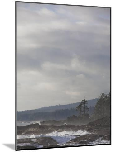 Stormy Day on Vancouver Island's West Coast-Taylor S^ Kennedy-Mounted Photographic Print