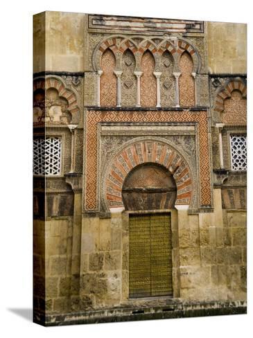 Moorish Architectural Detail of the Mezquita in Cordoba, Spain-Scott Warren-Stretched Canvas Print