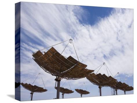 Hermansburg Solar Energy Receiver Array-Stephen Alvarez-Stretched Canvas Print
