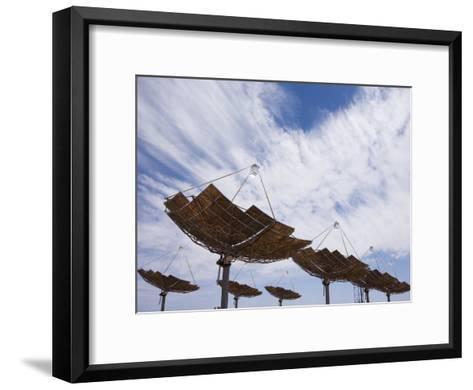 Hermansburg Solar Energy Receiver Array-Stephen Alvarez-Framed Art Print