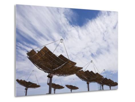 Hermansburg Solar Energy Receiver Array-Stephen Alvarez-Metal Print