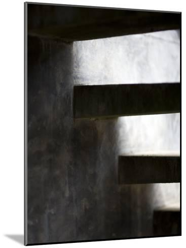 Cement Stairway-David Evans-Mounted Photographic Print