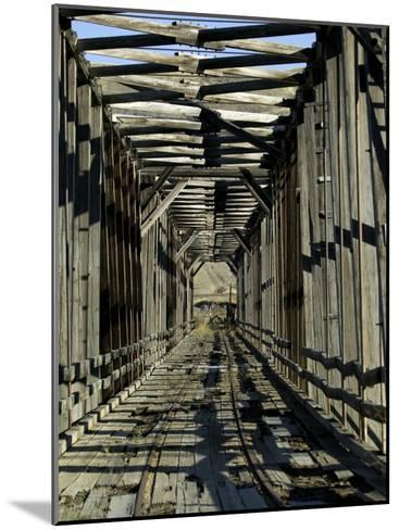 Abandoned Railroad Bridge-Pete Ryan-Mounted Photographic Print
