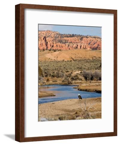 Desert Scene in Utah-Taylor S^ Kennedy-Framed Art Print