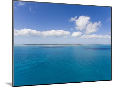 Florida Keys Islands on Sunny Day with Blue Sky and Turquoise Waters-Mike Theiss-Mounted Photographic Print