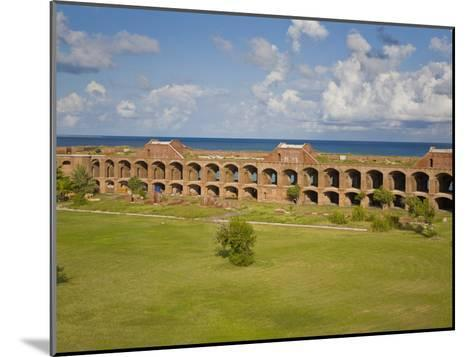 View Inside the Courtyard of Fort Jefferson, Dry Tortugas-Mike Theiss-Mounted Photographic Print