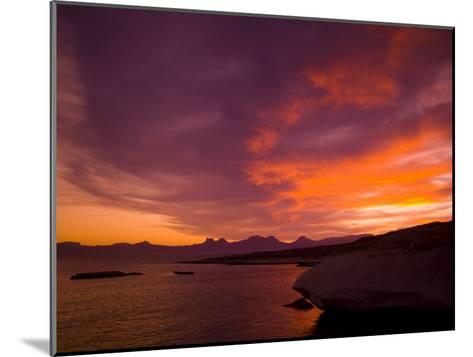 Summer Sunset over the Sea of Cortez-Ralph Lee Hopkins-Mounted Photographic Print