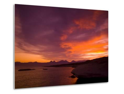 Summer Sunset over the Sea of Cortez-Ralph Lee Hopkins-Metal Print
