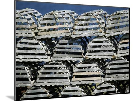 Stacks of Lobster Pots-Pete Ryan-Mounted Photographic Print
