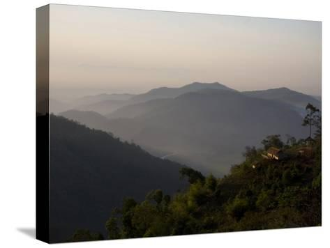 Lahu Tribe Outpost in Mountainous Northern Thailand-Rebecca Hale-Stretched Canvas Print