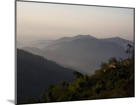 Lahu Tribe Outpost in Mountainous Northern Thailand-Rebecca Hale-Mounted Photographic Print
