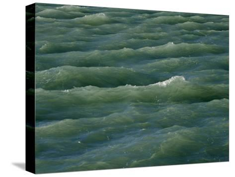 Waves Near Boca Chita Key in Biscayne National Park, Florida-Michael Melford-Stretched Canvas Print