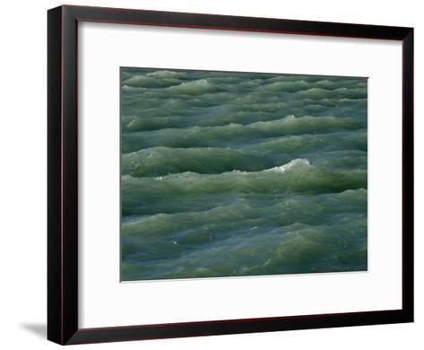Waves Near Boca Chita Key in Biscayne National Park, Florida-Michael Melford-Framed Art Print