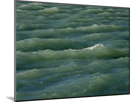 Waves Near Boca Chita Key in Biscayne National Park, Florida-Michael Melford-Mounted Photographic Print