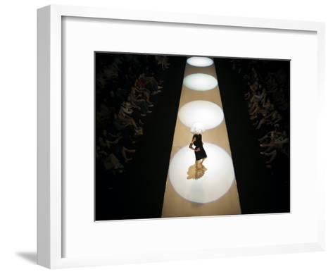 Fashion Show in Singapore-xPacifica-Framed Art Print