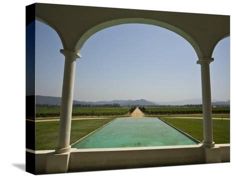 Casablanca Valley, a Wine Growing Region West of Santiago, Chile-Richard Nowitz-Stretched Canvas Print