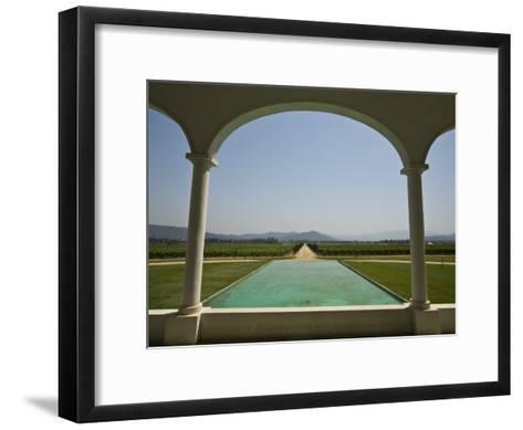 Casablanca Valley, a Wine Growing Region West of Santiago, Chile-Richard Nowitz-Framed Art Print