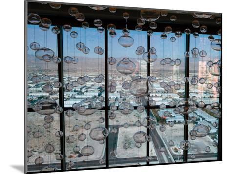 View from Mandaly Bay Hotel of Las Vegas Blvd-Richard Nowitz-Mounted Photographic Print