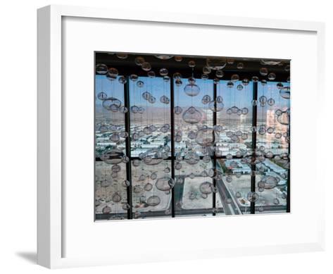 View from Mandaly Bay Hotel of Las Vegas Blvd-Richard Nowitz-Framed Art Print
