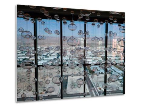View from Mandaly Bay Hotel of Las Vegas Blvd-Richard Nowitz-Metal Print