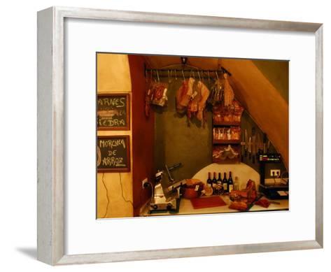 Inside a Tapas Restaurant-Raul Touzon-Framed Art Print