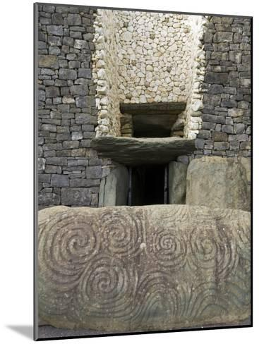 Petrogyphs at the Entrance of Newgrange, a 5000 Year Old Passage Tomb-Rich Reid-Mounted Photographic Print