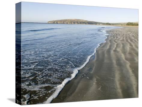 Waves Washing Up on Doran Beach at Bodega Bay-Rich Reid-Stretched Canvas Print