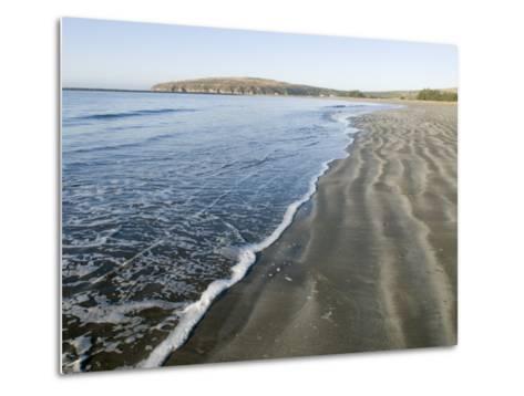 Waves Washing Up on Doran Beach at Bodega Bay-Rich Reid-Metal Print