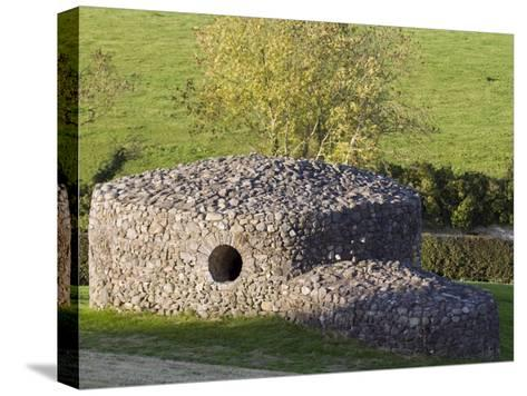 Rock Shelter Near the 5,000 Year Old Newgrange Passage Tomb-Rich Reid-Stretched Canvas Print