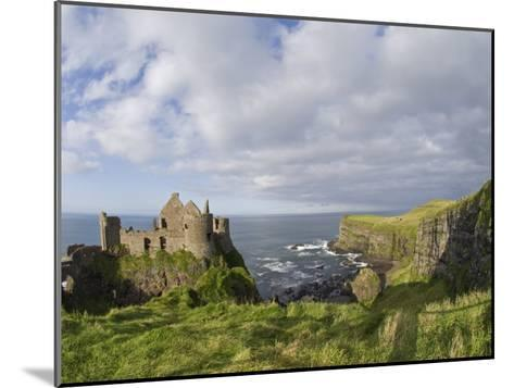 Ruins of 13th Century Medieval Dunluce Castle-Rich Reid-Mounted Photographic Print