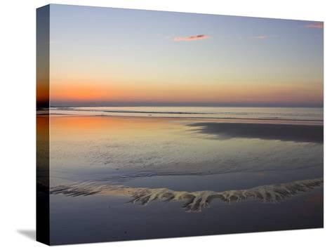Tide Pools Reflect Dawn's First Light-Jason Edwards-Stretched Canvas Print