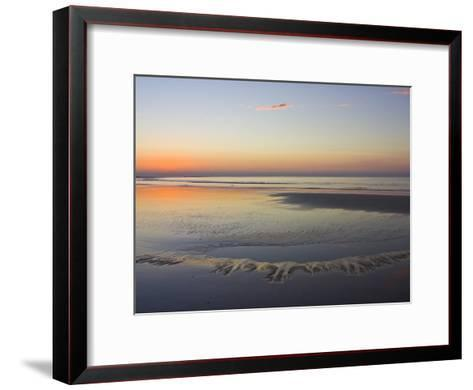 Tide Pools Reflect Dawn's First Light-Jason Edwards-Framed Art Print