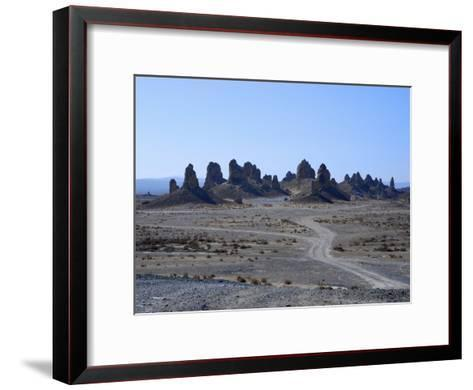 Tufa Spires in Trona Pinnacles National Landmark, California-Raymond Gehman-Framed Art Print