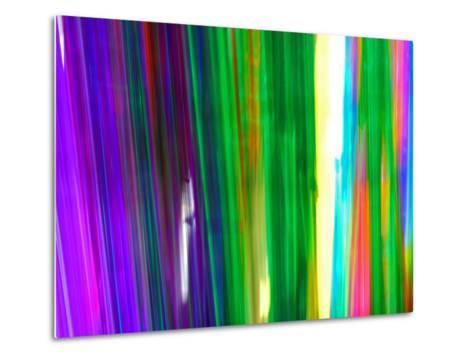 Colorful Plastic Tubes in San Francisco Plastics Shop-Raymond Gehman-Metal Print