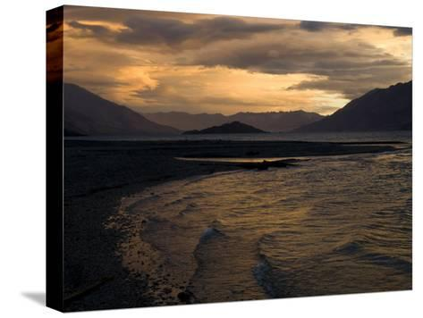 Moody Clouds over New Zealand's South Island-Bill Hatcher-Stretched Canvas Print