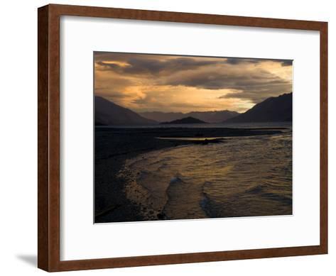 Moody Clouds over New Zealand's South Island-Bill Hatcher-Framed Art Print