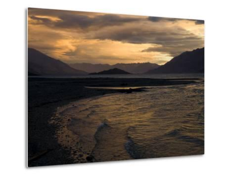 Moody Clouds over New Zealand's South Island-Bill Hatcher-Metal Print