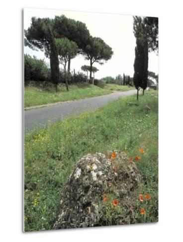 Appian Way, an Ancient Roman Road-Richard Nowitz-Metal Print