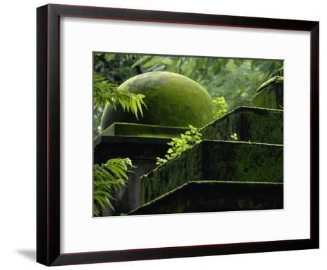 South Park Street Cemetery, Famous Cemetery During British East India-Steve Raymer-Framed Art Print