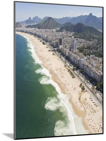 Dangerous and Deadly Rip Currents Along the Coast of Rio De Janeiro-Mike Theiss-Mounted Photographic Print